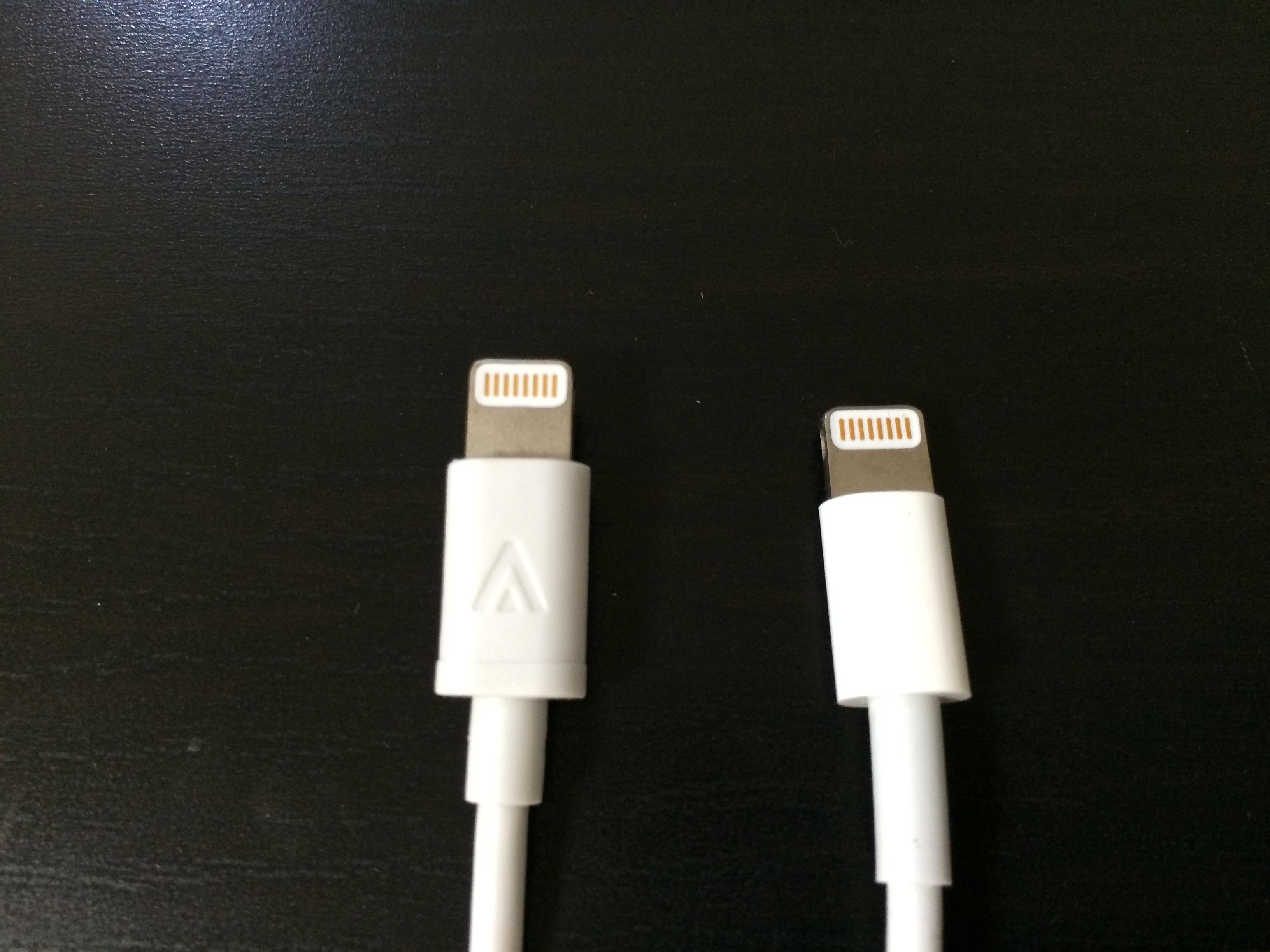 【本日10/1限定】iPhone 7で使えるAmazonのアップル認証ライトニングUSBケーブルが500円台で購入可能
