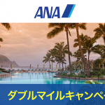 まだ間に合う!ANAグローバルホテル・レンタカーがダブルマイルキャンペーンを開催!2019年7月31日まで